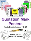 Quotation Mark Posters