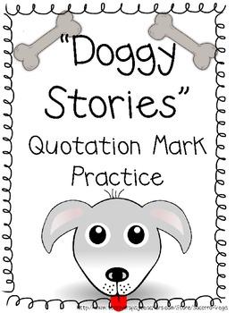 Quotation Mark Practice!