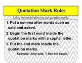 Quotation Mark Rules