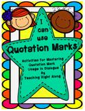 Quotation Mark Worksheets