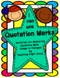 Quotation Mark Worksheets