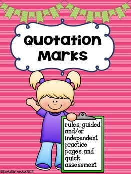 Quotation Marks - A Week of Practice