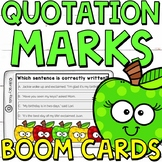 Quotation Marks Boom Cards (24 digital task cards)