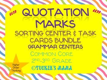 Quotation Marks Centers Bundle