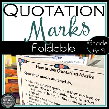 Dialogue And Quotation Mark Rules Teaching Resources  Teachers Pay