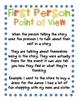 Quotation Marks, Dialogue, & Point of View! {Posters, Centers, & Practice}