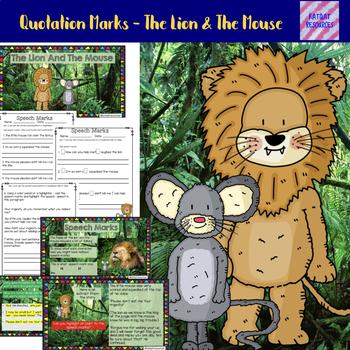 Quotation Marks - Kindergarten / Grade 1