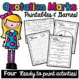 Quotation Marks Printables