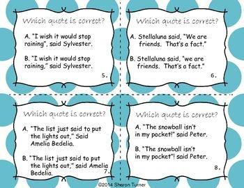 Quotation Marks (Part 1 + Part 2) BUNDLE!