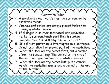Quotation Marks (Part 2)