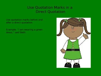Quotation Marks PowerPoint