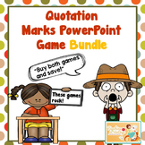Quotation Marks PowerPoint Game Bundle