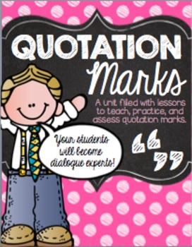 Quotation Marks Practice Pack