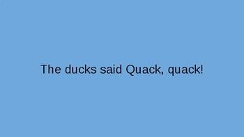 Quotation Marks Practice Presentation