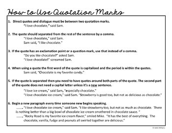 quote sheets