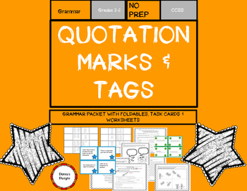 Quotation Marks & Tags