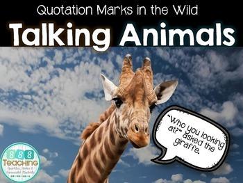 Quotation Marks - Talking Animals Practice