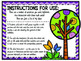 Quotation Marks Task Cards - Spring Themed