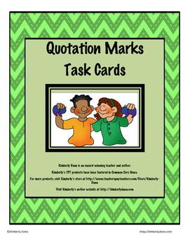 Quotation Marks Teach and Reach Bundle