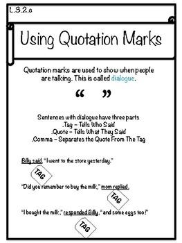 Quotation Marks Unit
