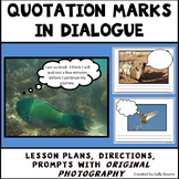Quotation Marks Worksheets - Writing Quotation Marks in Dialogue Set 1