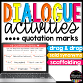 Quotation Marks in Dialogue Distance Learning