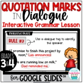 Quotation Marks in Dialogue Digital Grammar Google Distanc