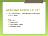 Quotation Marks in Dialogue PowerPoint