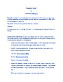 Quotation Marks verses Italics & Underlining Lesson and Practice