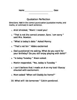 Quotation Perfection