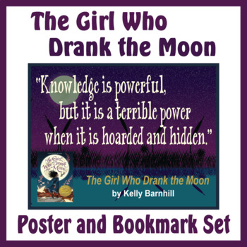 Quotation Poster With Editable Readalike Bookmark The Girl Who