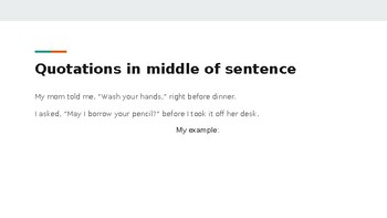 Quotation Practice with Technology