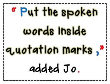 Quotation Rules Poster Set
