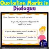 Quotations Marks in Dialogue BOOM Cards