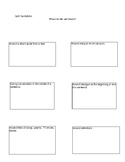 Quotations Rules Worksheet and Quiz