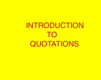 Quotations Smartboard File