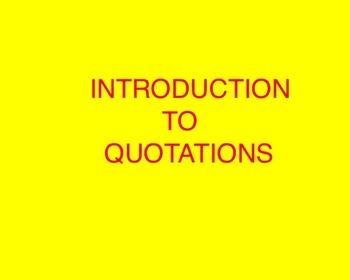 Quotations Smartboard File