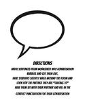 Quotation Marks - Conversation Bubbles