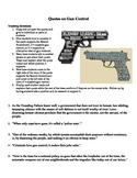 Quote Analysis Activity:  Gun Control
