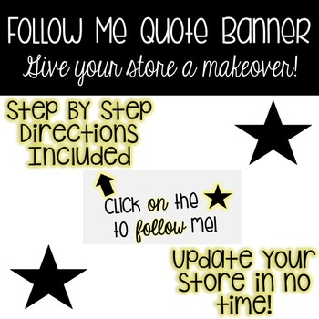 Quote Banner - Follow Me