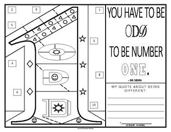 Quote & Color: Dr. Seuss Individuality Bundle!