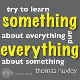 Quote Icons - Thomas Huxley