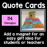 Quotation Motivational Cards
