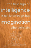 Quote Poster - Albert Einstein