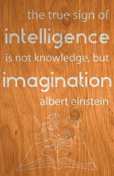 Quote Poster - Albert Einstein