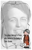 Quote Poster with Eleanor Roosevelt