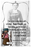 Quote Poster with Harriet Tubman