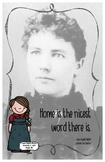 Quote Poster with Laura Ingalls Wilder