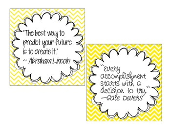 Quote Posters {Freebie}