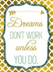 Quote Posters - Teal and Gold